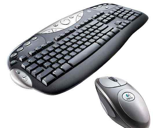 Клавиатура и мышь Logitech Cordless Desktop MX