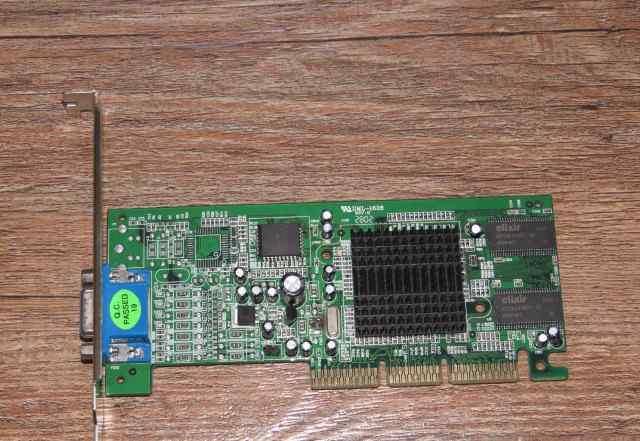 Видеокарта AGP 4х GeForce2 MX200 32M (asus V7100)