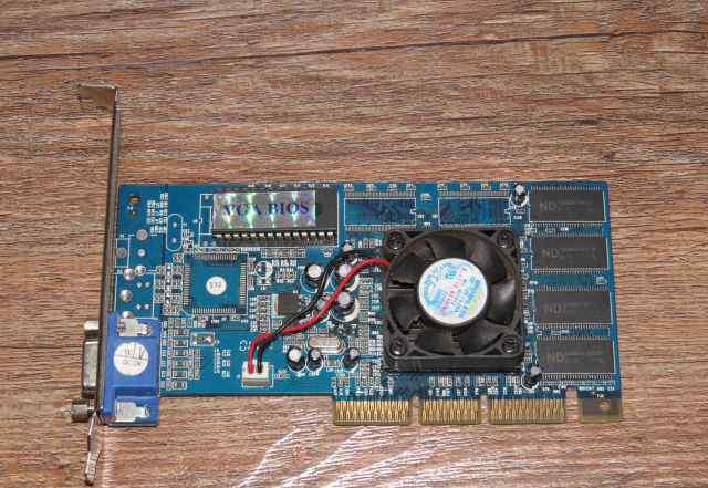 Видеокарта AGP 4х TNT2 PRO 32M