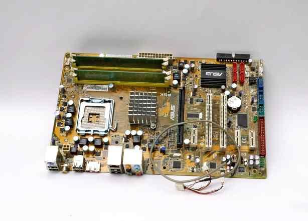 Материнская плата asus P5K SE EPU + 512 DDR
