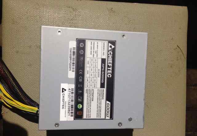 Блок питания Chieftec APS-600SB