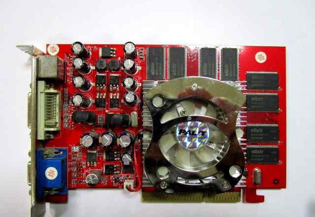 Palit 6600 AGP8X 256 MB 128 BIT TV-OUT DVI