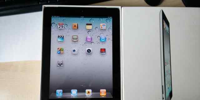Новый iPad black 2 64GB c wifi и 3G