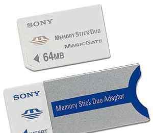 Адаптер Memory Stick Duo для карт памяти Memory St