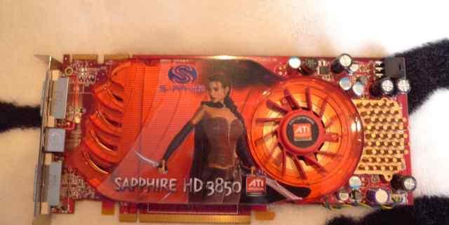 Видеокарта Sapphire Radeon HD 3850 512Mb DDR3