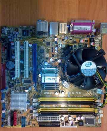 Asus P5K-VM и Intel Core 2 Duo E6750