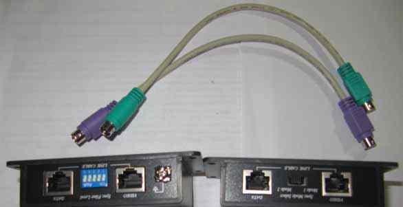 Удлинитель для VGA/клавиатура/mouse
