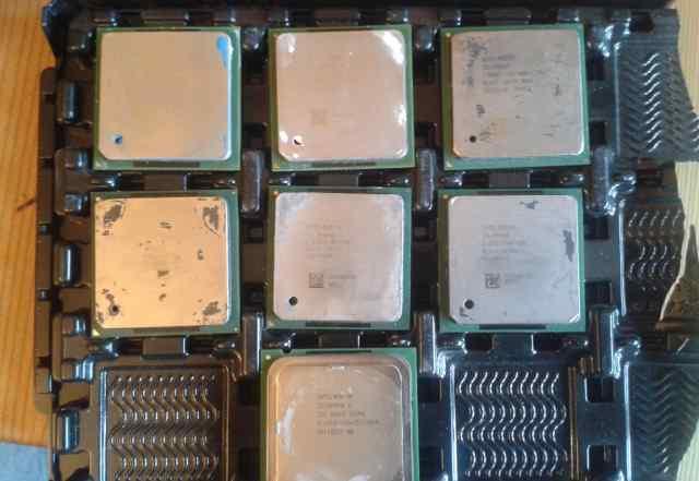 Процессоры Celeron S478 и S775