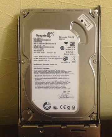Seagate Barracuda 7200.12 500GB