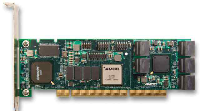 AMCC PCI-X 8-PORT SATA II RAID CONTROLLER 9550SX-8LP 3WARE