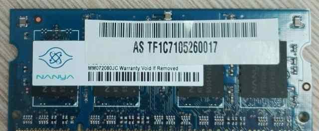 Nanya SO-dimm ddr2 PC2-5300 512MB