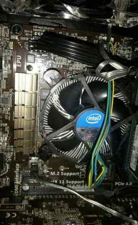 Штатный куллер intel для процессора i5