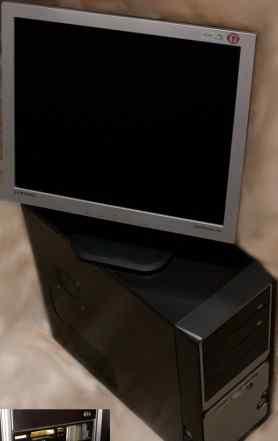 Игровой компьютер (системный блок ) + монитор 17