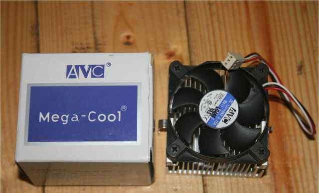 Куллер AVC 60x60x37 Socket A (Socket 462) / 370