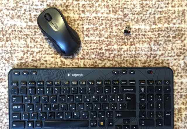 Беспроводные клава и мышь Logitech (K360 + M510)