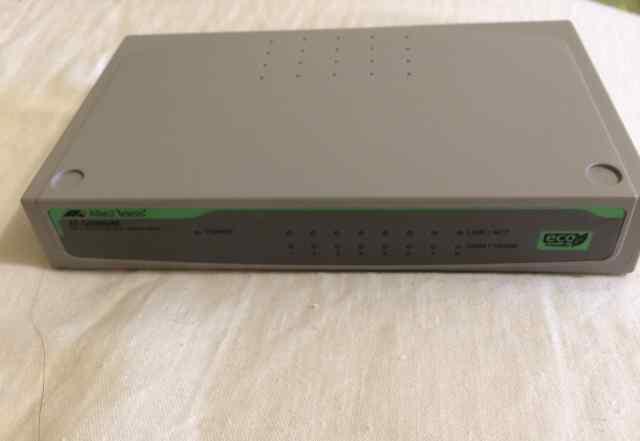 Коммутатор Allied Telesis AT-GS900/8E-50 неуправля