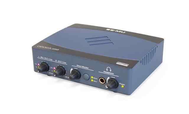 Профессиональный звуковой интерфейс E-MU0202 USB