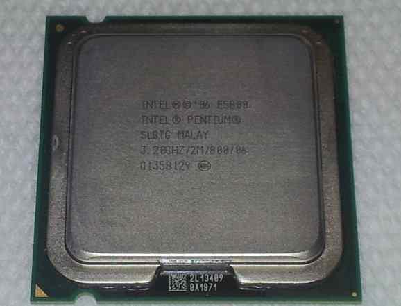 Процессор Pentium-E5800-Dual Core