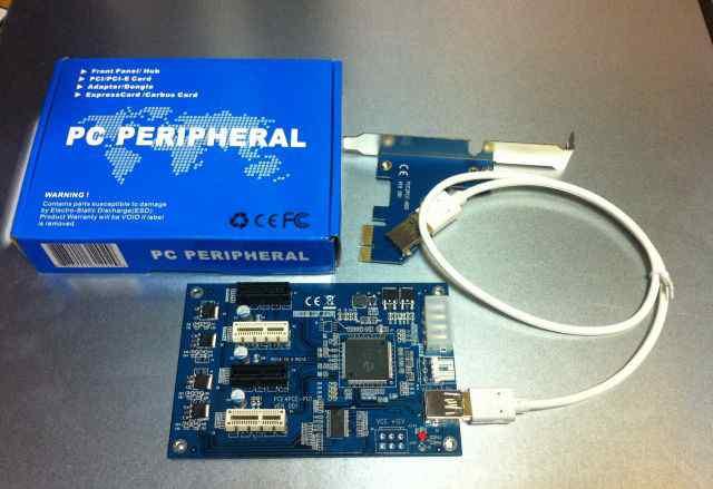PCI-Ex1 Expander(расширитель/сплиттер) + 3PCI-Ex1