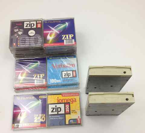 Iomega ZIP - магнитооптические диски