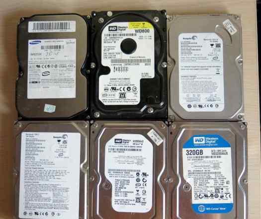 Жесткие диски для компьютера SATA 3.5 160 Гб