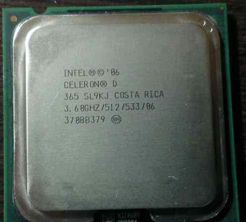 Продаю процессор CeleronD 3.6ггц socet lga775
