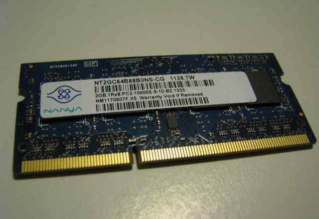 Nanya pc3 10600 s 2gb
