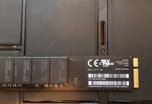SSD 256GB Samsung MacBook air 2012 A1465, A1466