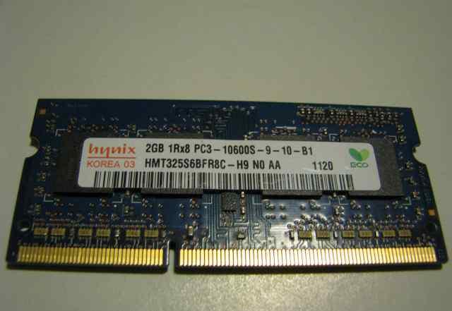 Hynix 2gb 1rx8 pc3-10600s