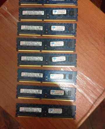 Оперативная память DDR 3 - 10 штук по 2Гб каждая