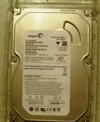 Жесткий диск Seagate ST3160815A 160Gb (новый)