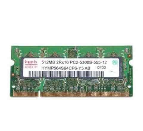 Память DDR2 sodimm 512 Mb PC2-5300S