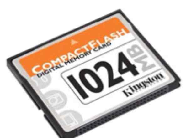 Kingston Compact Flash 1 Gb