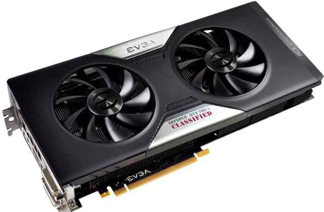 Видеокарта evga Geforce GTX780 TI Dual Classified