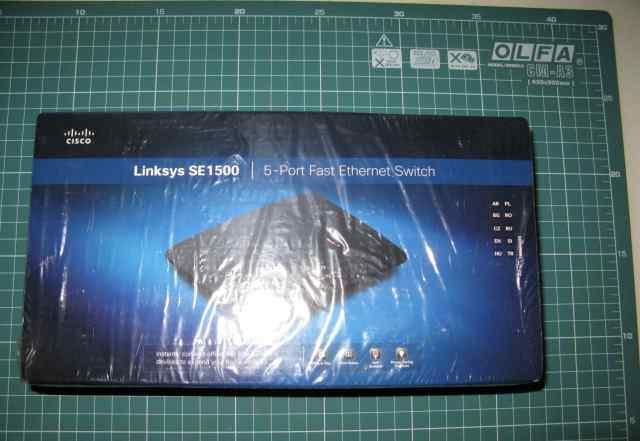Коммутатор Linksys SE1500