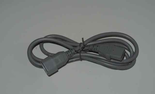 Шнур питания компьютерный 1.8 метра 2 штуки
