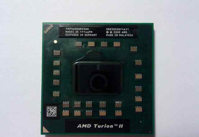 Процессор AMD Turion II Dual-Core Mobile P560