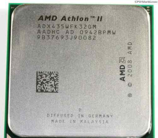 Процессор AMD athlon ii 435