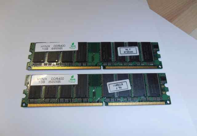 Оперативная память DDR400 1GB