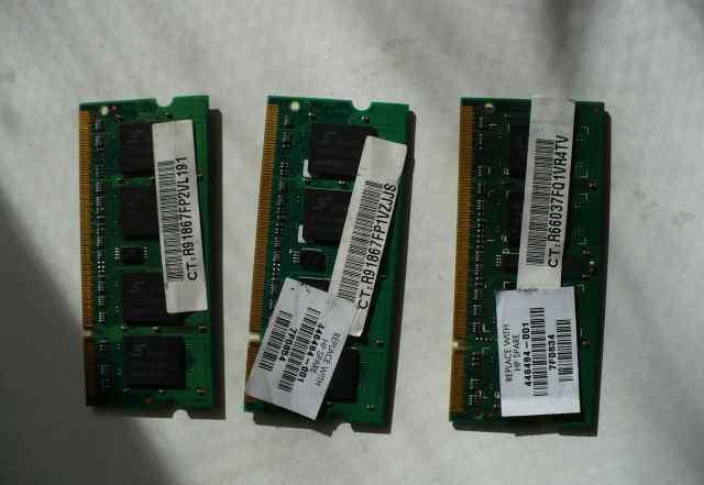 Оперативная память SO-dimm DDR2