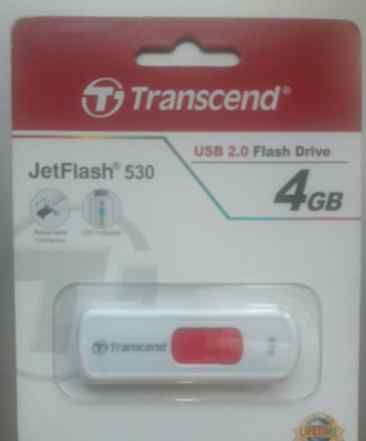 Usb flash drive 4gb transcend jetflash 530