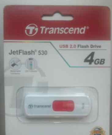 Usb flash drive 4gb transcend jetflash 530