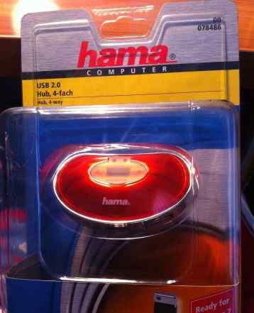 USB hub hama H-78486