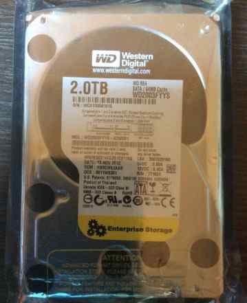 Жесткий диск Western Digital RE4 WD2003fyys 2 TB