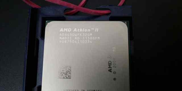 Amd athlon(tm) ll x3 450 processor 3.20