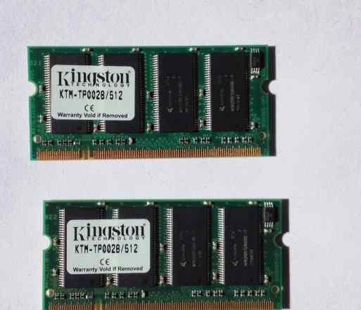 Оперативная память DDR 512 Mb Kingston KTM-TP0028