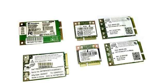 Minipci-E WI-FI адаптеры для ноутбуков