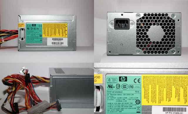 Блок питания Hewlett-Packard HP-D3006A0 300W
