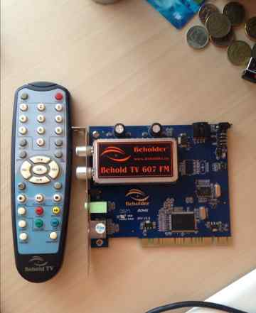 Тв-тюнер Beholder TV 607 fm (pci)