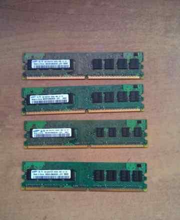 Память DDR2 dimm 240 1GB